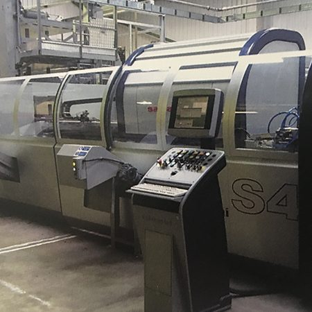 A Salvagnini S4.30, automated punch was installed, the first in the UK in a sub-contractor. An additional new Amada HFB press brake was added.