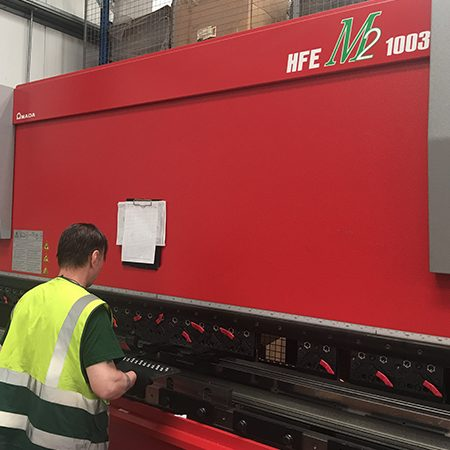 Amada HFE II CNC Press-Brakes