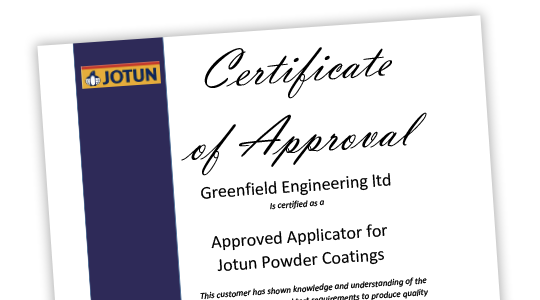 Jotun Approved Applicator