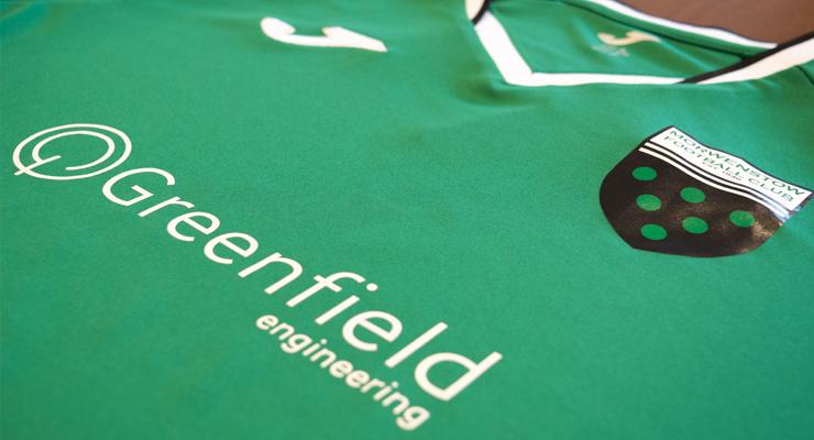 Greenfield Sponsored Football Kit